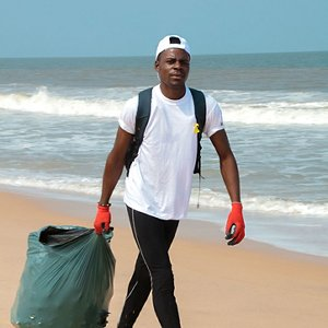 Clean beaches in the Congo
