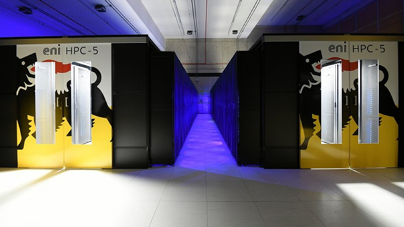 HPC5: supercomputing at the service of energy