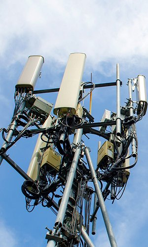telecommunication tower for 5G network,smart city equipment
