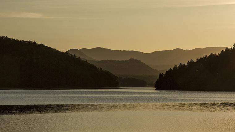 Il lago Pertusillo