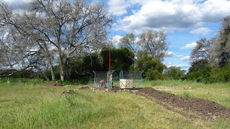 Il primo pozzo d'acqua del progetto Sociale Integrato in Angola