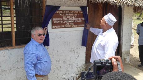 Un nuovo impianto di desalinizzazione a Lamu, in Kenya