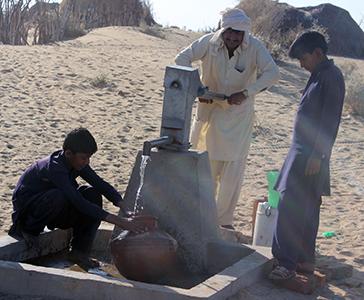 Pakistan: ogni goccia conta