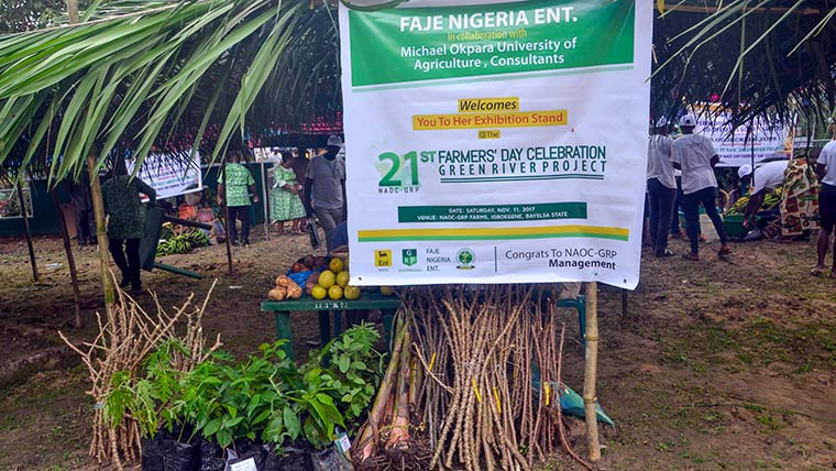 Farm village re-creation, agro entrepreneur exhibition stand