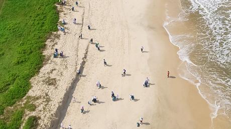 """Eni Congo aderisce all'iniziativa """"Clean Beach"""""""