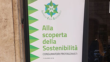 Eni sponsor del convegno Alla scoperta della Sostenibilità