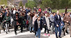 Eni: NECST svela le opportunità delle nuove tecniche fotografiche agli studenti europei in visita in Val d'Agri