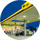 Our Agip service stations network