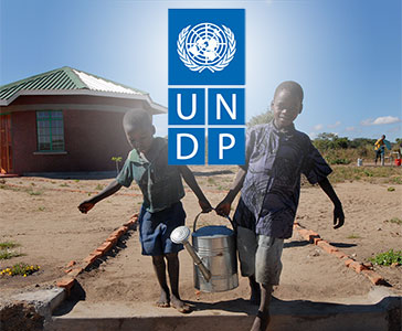 An unusual partnership with the UNDP