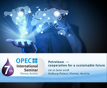 Eni is a Platinum Sponsor at the 7th OPEC International Seminar