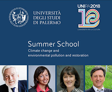 Strategies for environmental restoration: Summer School in Palermo is about to begin