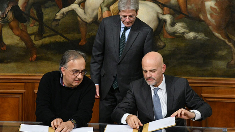 Eni-FCA: agreement for sustainable mobility