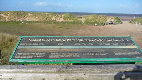 Talacre Masterplan project: creation of environmentally sensitive car parks