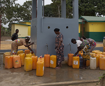The Hinda Integrated Project: our commitment to provide access to drinking water