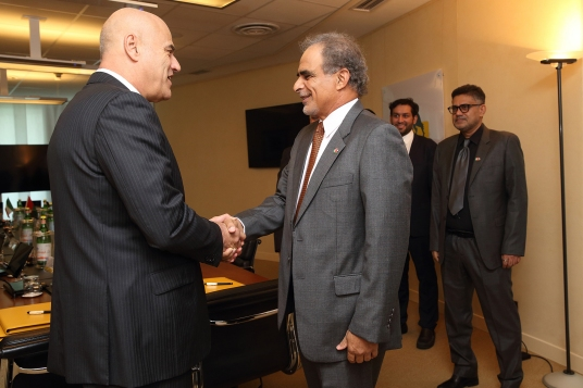 Eni finalizes with OOC a MoU for cooperation in Oil & Gas