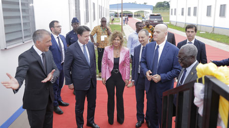 Eni and the Government of Ghana inaugurate business and agricultural training project
