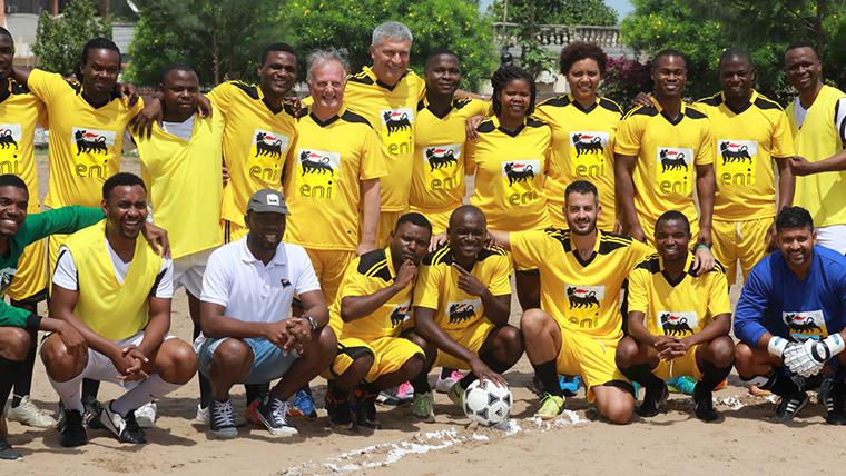 Soccer in Maputo
