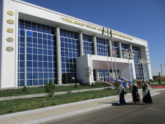 The Ashgabat Training Center in Ashgabat