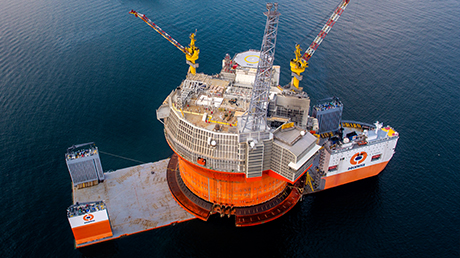 The production activities of Eni oil  fields