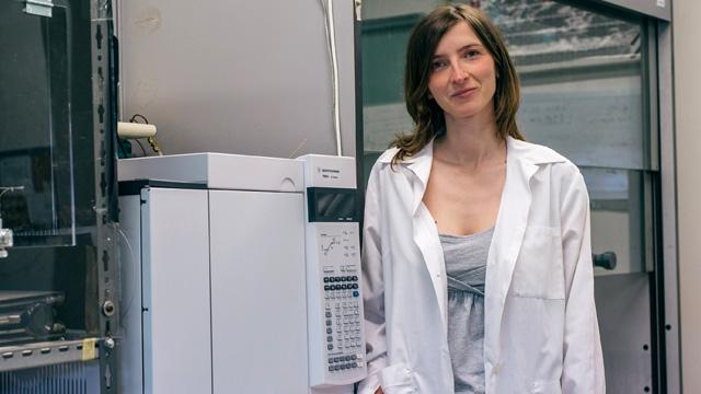 Eni Award 2015, Daniela Meroni. Le pellicole cattura-luce che rispettano l'ambiente