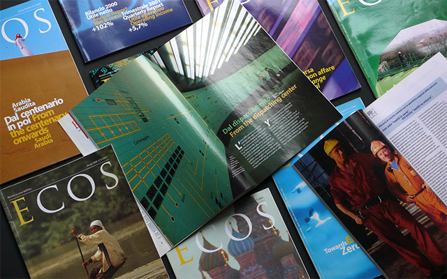 Eni's historic magazines
